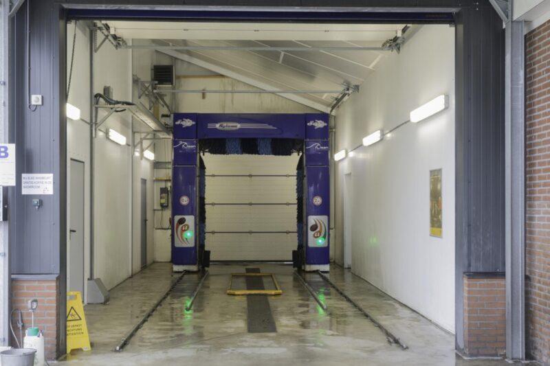 De carwash van Garage Binnenmars