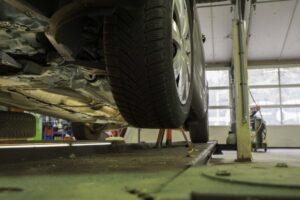 De werkplaats van Garage Binnenmars